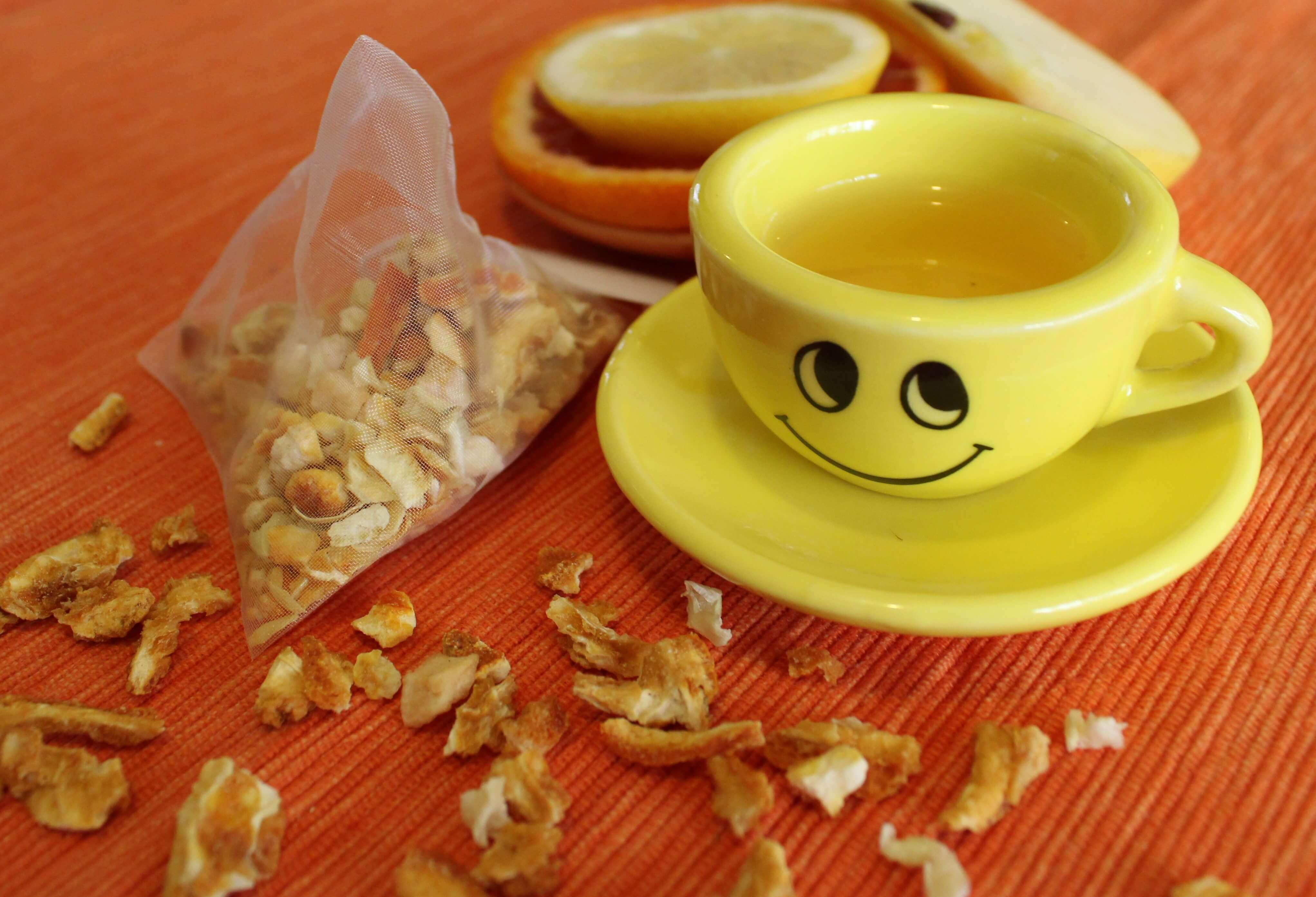 tisana agrumi mela ricette