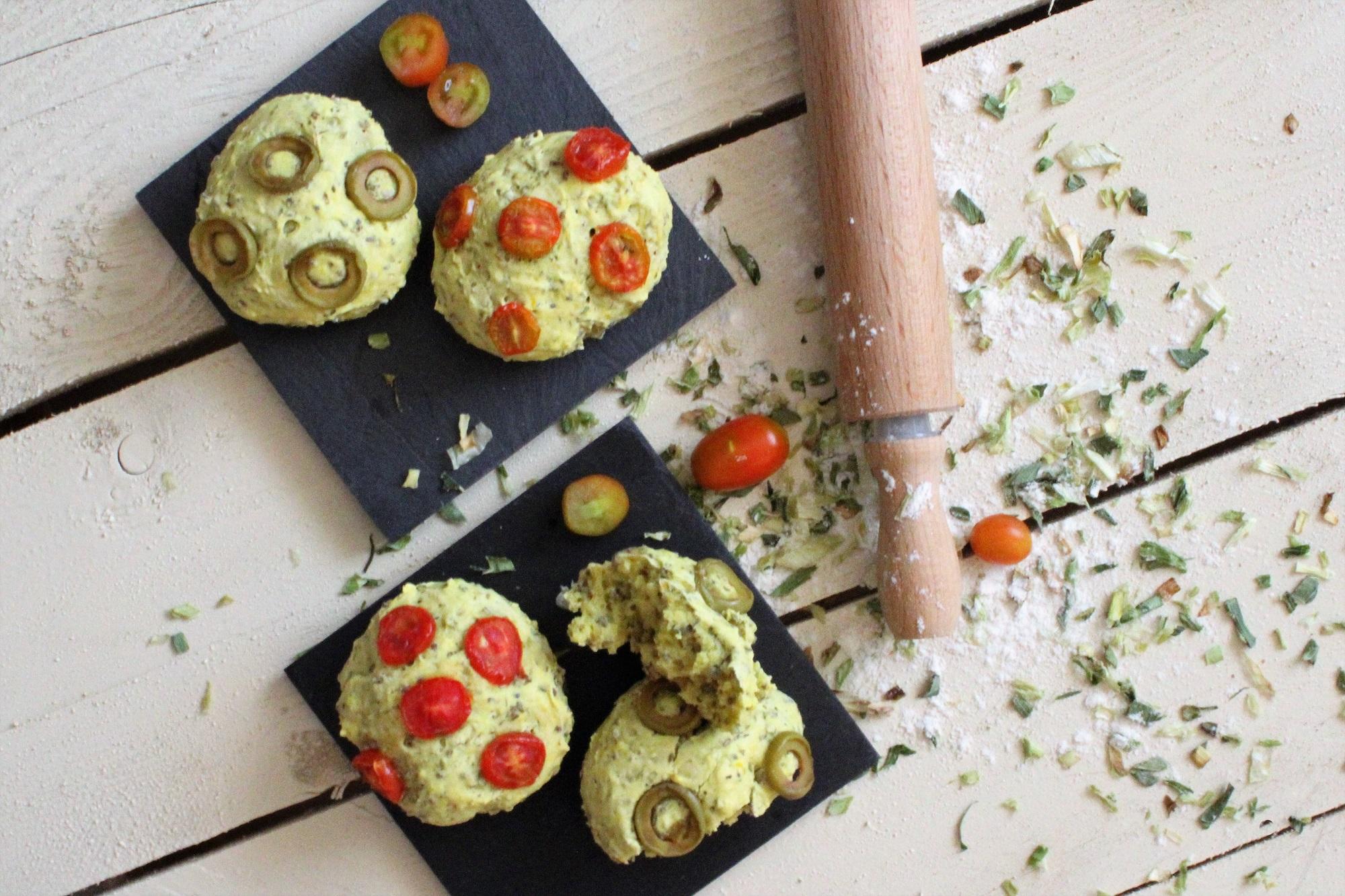 muffin porro essiccato