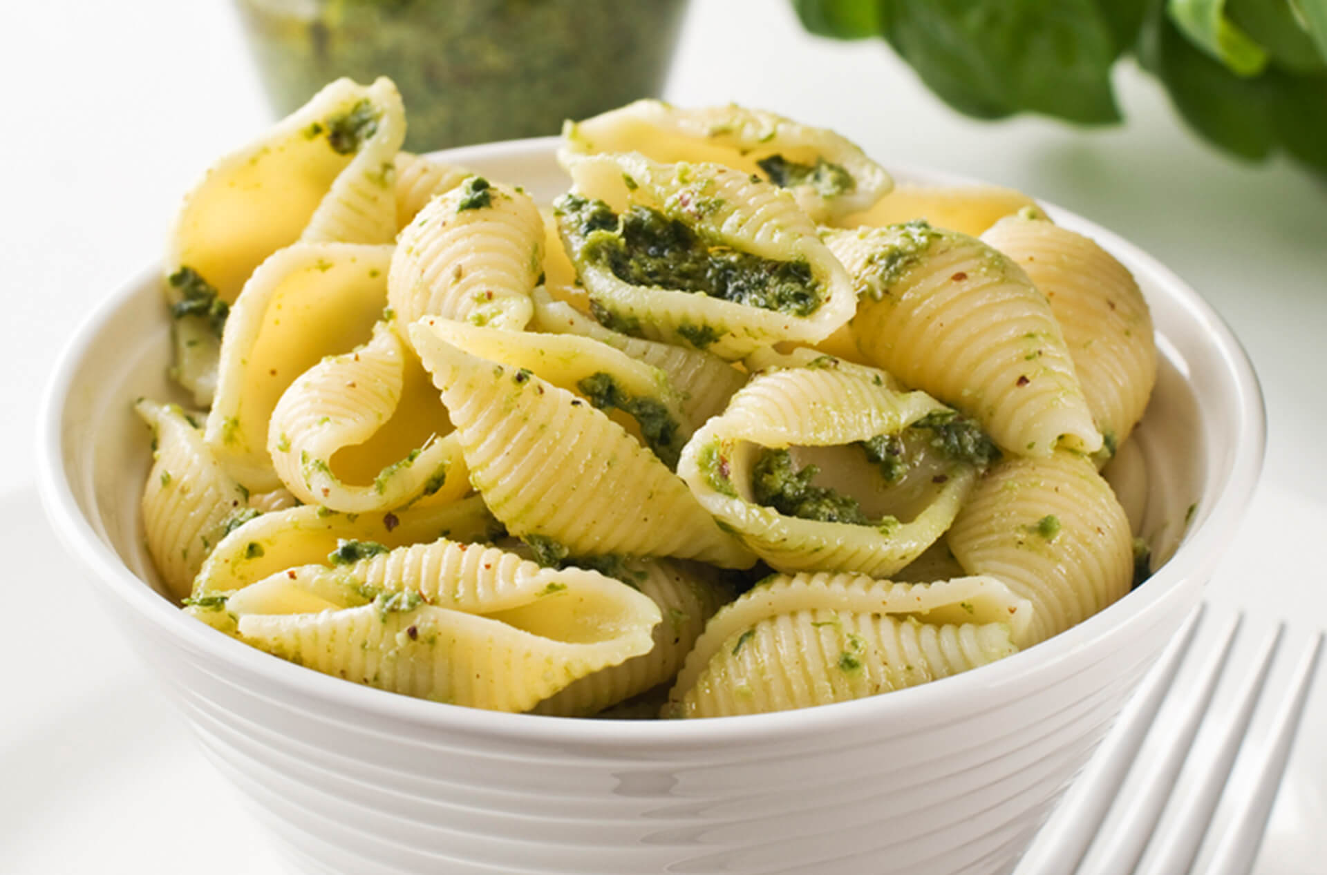 conchiglie pesto sedano