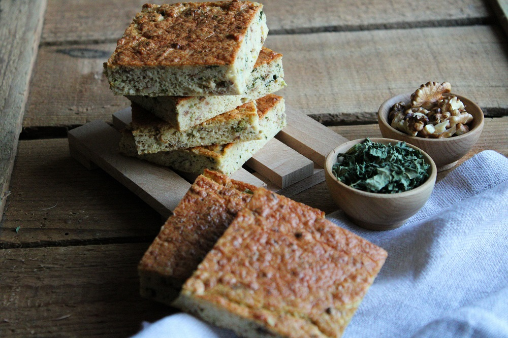 dried-cabbage-walnut-omelet