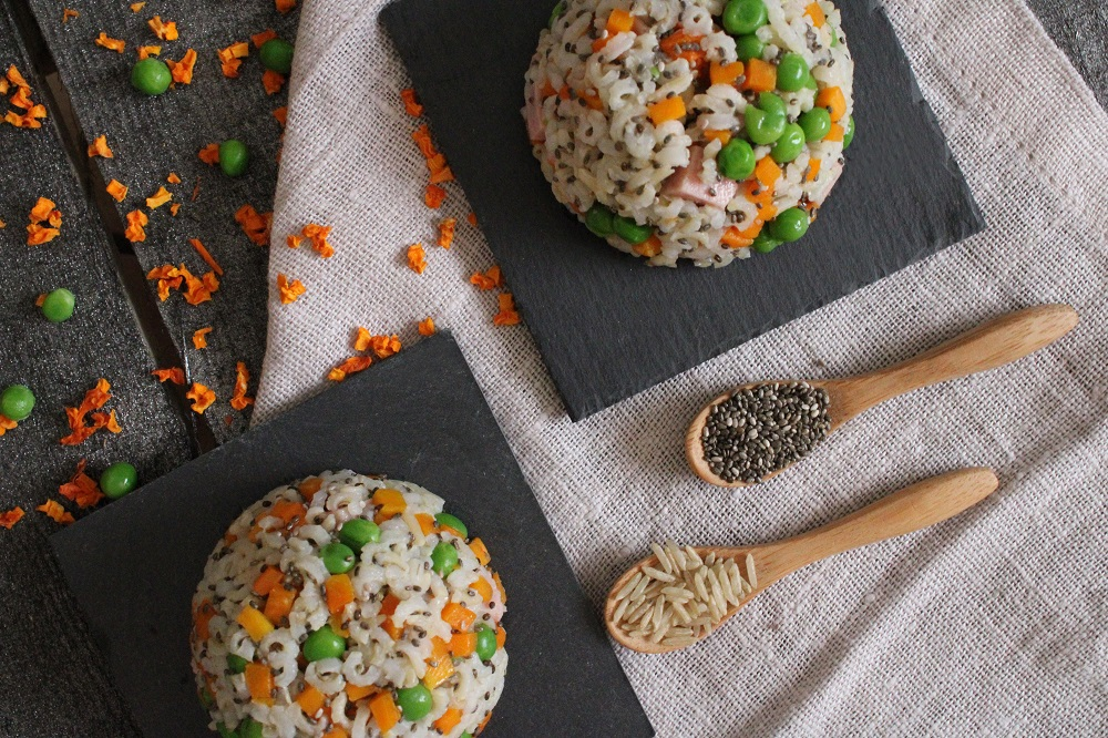 rice and dried pumpkin pies