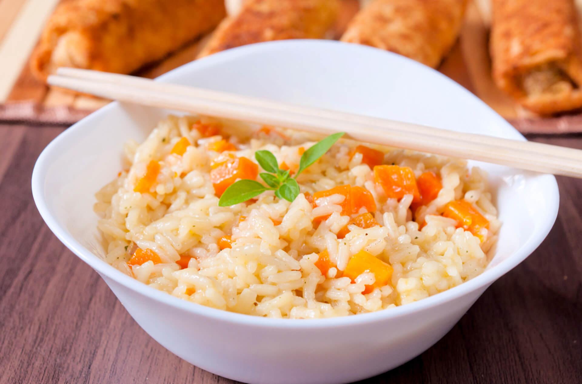 riso carote disidratate