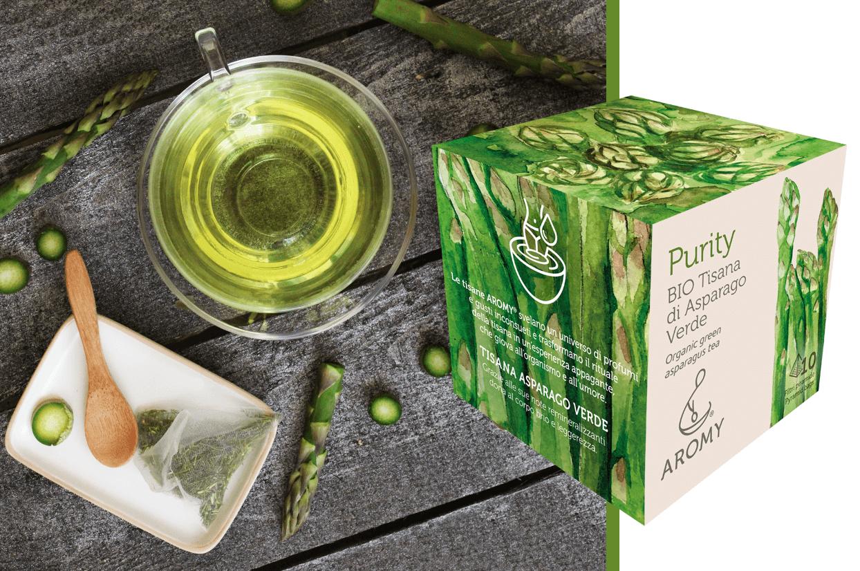 organic asparagus tea
