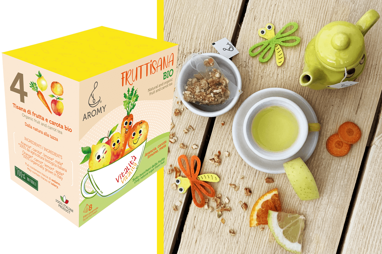 organic fruit tea fruttisana vitality