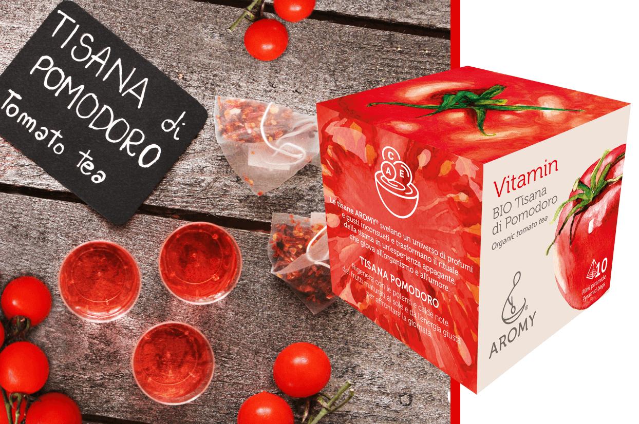 organic tomato tea