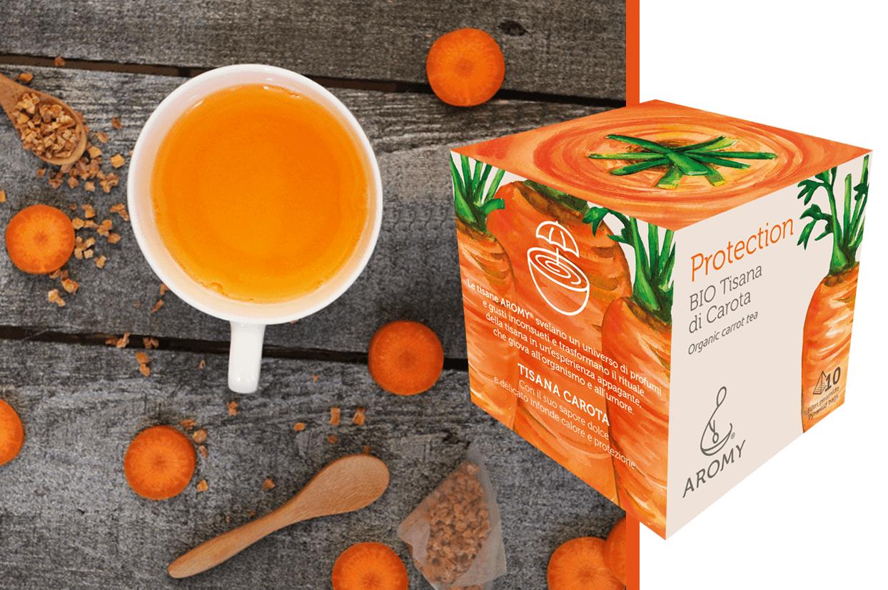 organic carrot tea