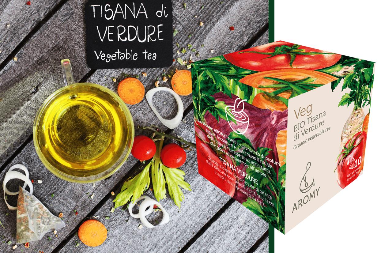 organic vegetable tea